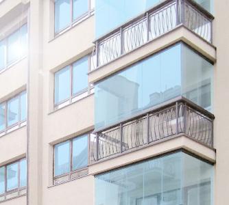 Безрамное остекление лоджий и балконов - Санкт